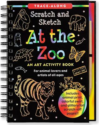 At the Zoo Scratch and Sketch Trace-Along By Nemmers, Lee/ Zschock, Martha Day